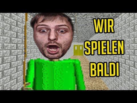 Wir spielen BALDI | Baldis Basics (Deutsch/German)