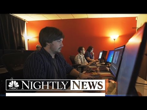 This School Is Helping Young Adults With Autism Make Movie Magic | NBC Nightly News