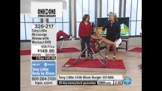 Tony Little Ab Lounge Xtreme with Workout DVD