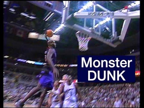 Monster Dunk - Toronto Raptor Keon Clark