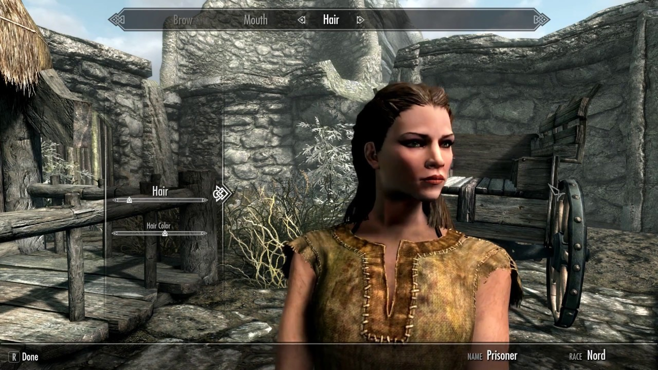 skyrim special edition how to make beautiful females full