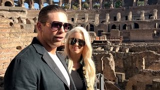The A-Lister and Maryse are impressed not only by the grandeur of R...