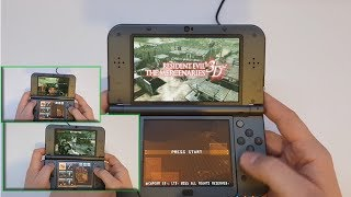 Resident Evil: The Mercenaries 3D - Nintendo 3DS XL gameplay