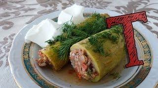 Turkish Stuffed Zucchini Recipe | Kousa Mahshi | Step By Step