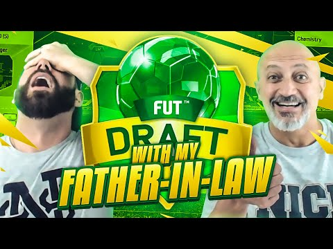 FUT DRAFT WITH MY FATHER-IN-LAW!! FUNNIEST GAMEPLAY EVER!! FIFA 16 Ultimate Team