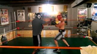 Rick vs Cole Boxing at Frank Rodriguez Boxing Club 1 of 2