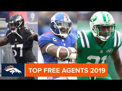 Top Free Agents You Need To Know In 2019 | Denver Broncos