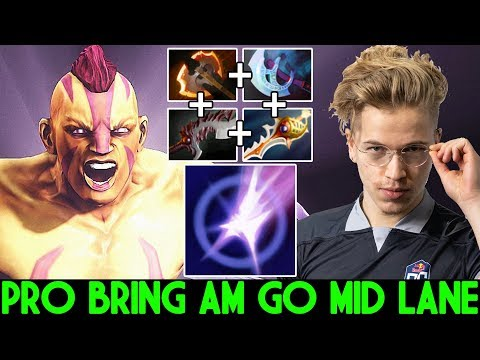 TOPSON [Anti Mage] Pro Bring AM Go Mid Toying Enemy 7.24 Dota 2