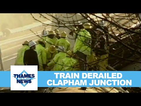 Train Derailed Clapham Junction | Thames News