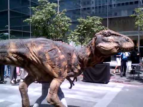 Walking With Dinosaurs at Comcast Center