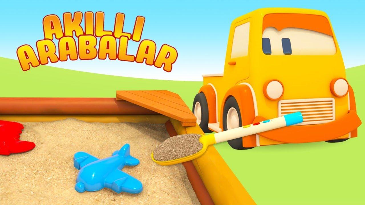 Çizgi film - Akıllı arabalar - Oyun parkında! Çocuklar için eğitici dizi