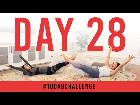 Day 28: 100 Pillow Passes! | #100AbChallenge w/ Mari Takahashi
