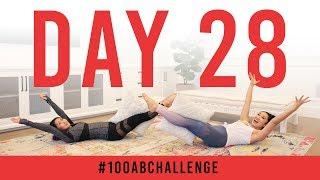 Day 28: 100 Pillow Passes!   #100AbChallenge w/ Mari Takahashi