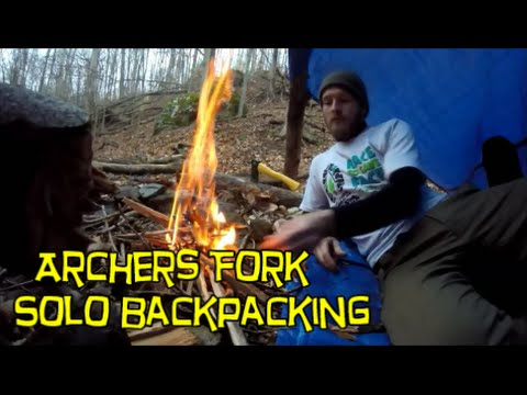 Archers Fork Solo Backpacking - Wayne National Forest