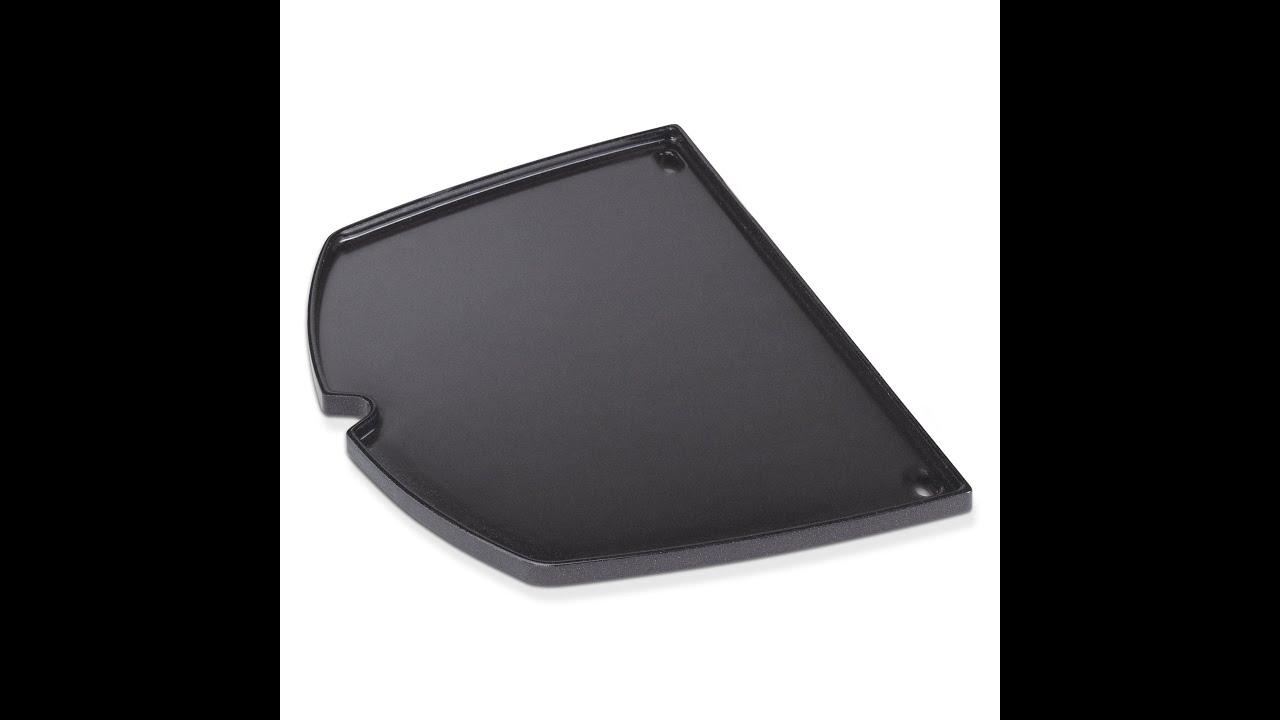 weber zubeh r grillplatte q1000 serie raima youtube. Black Bedroom Furniture Sets. Home Design Ideas