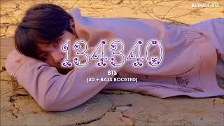 [3D+BASS BOOSTED] BTS (방탄소년단) - 134340 (PLUTO)   bumble.bts