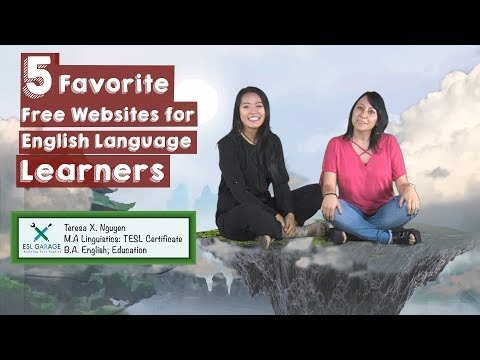 Back to School: Top 5 WEBSITES for English Language Learners🖥💻⌨️🌎🌍|| ESL Websites🇺🇸🤗