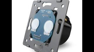 Сенсорный выключатель LIVOLO(Ссылка на Сенсорный выключатель LIVOLO: http://ali.pub/vb2nj Панель на сенсорный выключатель: http://ali.pub/86yjl Розетка на..., 2015-10-14T17:05:27.000Z)