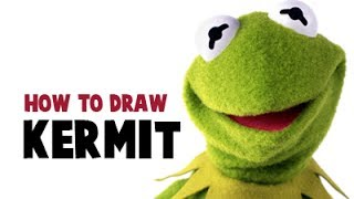 How to Draw Kermit the Frog from the Muppets