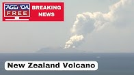 Volcano Erupts in New Zealand, Injuries Reported - LIVE COVERAGE