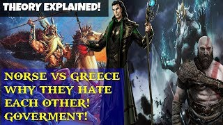 God of war 4 (old theory)- Norse and Greek HATE each other NEW THEORY! Ruling Differences!