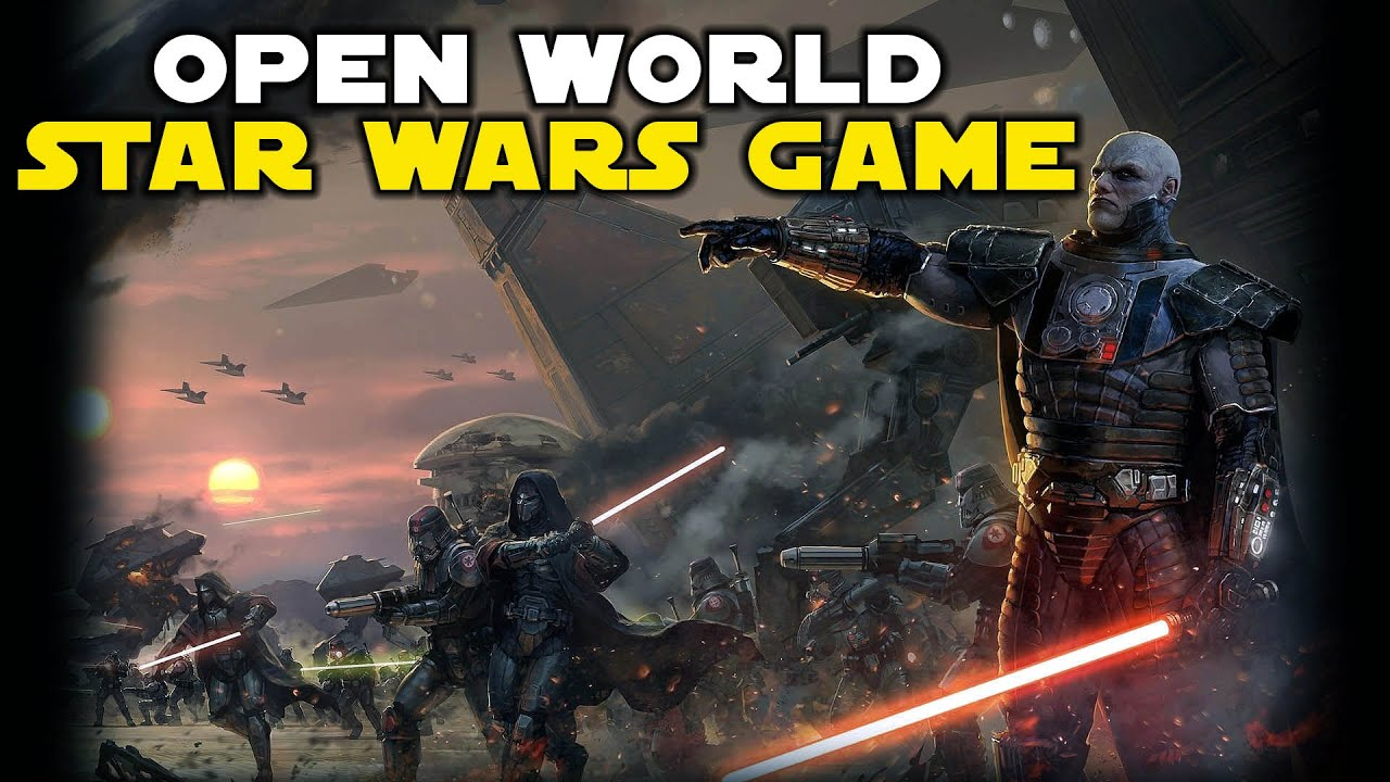 Star Wars New Open World Game Youtube