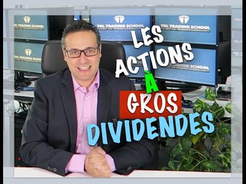 Bourse: gagner de l'argent facilement avec les actions à fort dividende?