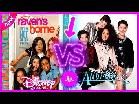 Thumbnail: Raven's Home VS Andi Mack Musical.ly Battle | Top Disney Channel Stars Musically