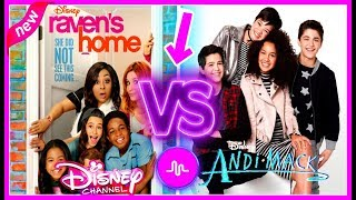 Raven's Home VS Andi Mack Musical.ly Battle | Top Disney Channel Stars Musically