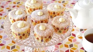 How to Make Hokkaido Chiffon Cupcakes (北海道牛奶蛋糕 Recipe) | OCHIKERON | Create Eat Happy :)