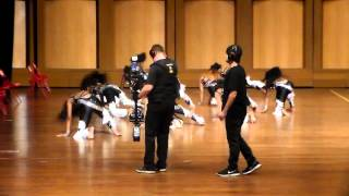 Dancing Dolls vs. Purple Diamonds - Battle Royale 2015 (Slow Stands)