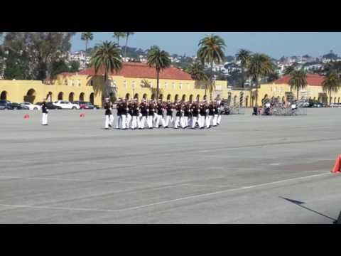 Silent Drill Platoon, MCRD San Diego 3/11/2017