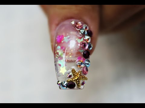 Full Aquarium Nail Tutorial
