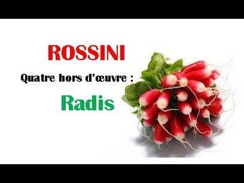 Rossini - Quatre hors d'œuvre: Radis - Riccardo Caramella, piano