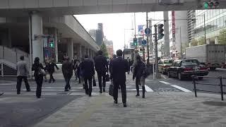《乗り換え》都営大門駅からJR浜松町駅へ。Daimon  Hamamatsucho