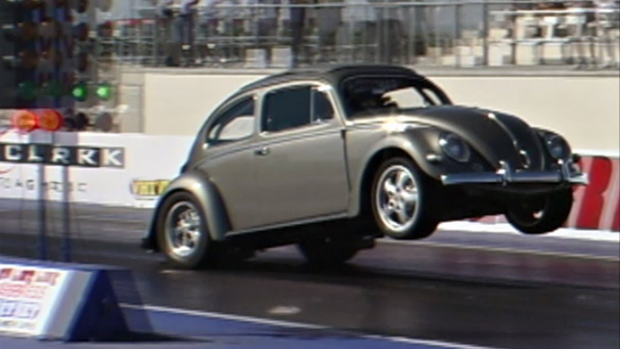 Gray Vw Beetle >> Unlimited Street VW drag racing, Las Vegas & Sacramento 2004 - YouTube