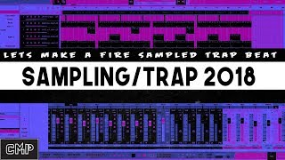 How to Make Fire Sampled Trap Beats In Studio One 3 ???????????? 2018