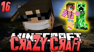 Minecraft CRAZY CRAFT 16 - GIRLFRIENDS ARE AWESOME (Minecraft Mod Survival)