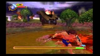 Maximo Vs. Army Of Zin Walkthrough (PS2) level 4: The House Crasher! (BOSS FIGHT!!!)