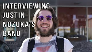 INTERVIEWING JUSTIN NOZUKA'S BAND | DRUMMER ON TOUR VLOG
