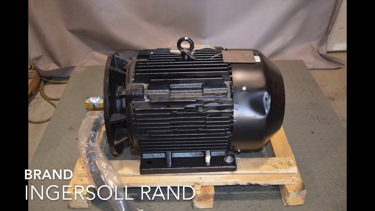 For sale ingersoll rand 50 hp 23637616 air compressor for Ingersoll rand air compressor electric motor