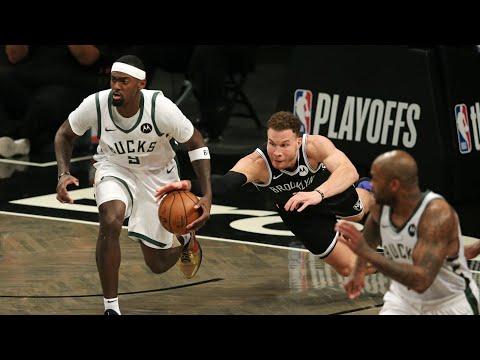 Harden Injury, Kyrie Fancy! Blake Griffin Big Game 1 vs Bucks! 2021 NBA Playoffs