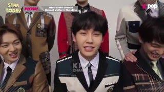 BTOB Kim sohyun ENG SUB 2nd photoshoot elite 비투비 김소현 minhyuk kpop funny moments