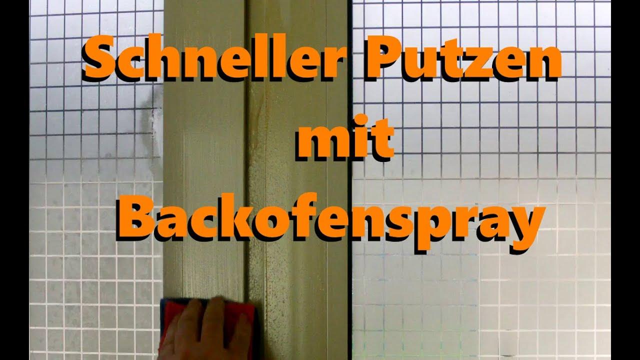 Schneller Und Besser Putzen Mit Backofenspray Tipp Youtube