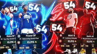 PULLING UP ON A HUGE 54 GAME WIN STREAK GONE WRONG (MY TEAMMATE HAD WRONG JUMPSHOT) NBA 2K19