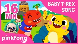 Video I'm a Baby T-Rex and more | +Compilation | Baby T-Rex Songs | Pinkfong Songs for Children download MP3, 3GP, MP4, WEBM, AVI, FLV Agustus 2019