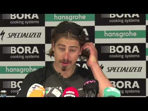 Peter Sagan - Press conference before Tour of Flanders - Ronde van Vlaanderen 2017