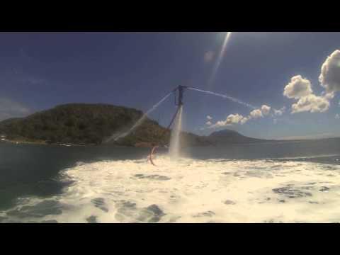 Flyboarding in St kitts