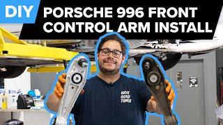 Porsche 996 911 Front Control Arm Replacement DIY (1999-2005 Porsche 911 Carrera)