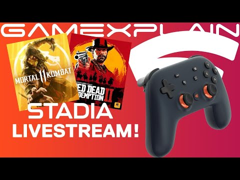 Stadia Livestream! - Testing Latency, Quality & Answering YOUR Questions!